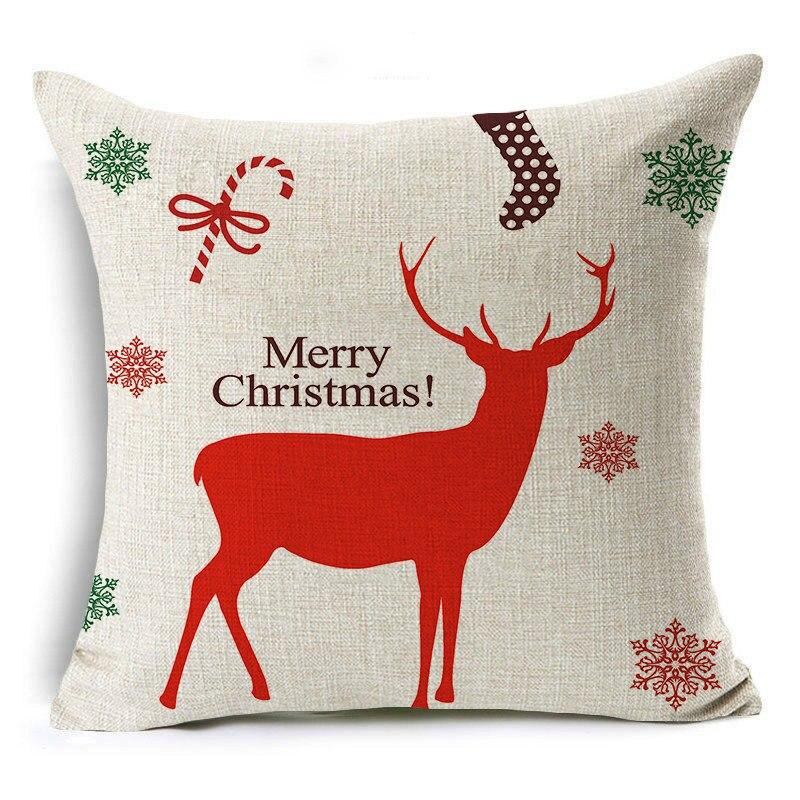 45x45 см рождественские украшения для дома, 2019 Новогодние рождественские украшения, рождественский подарок Санта Клауса, Navidad Noel