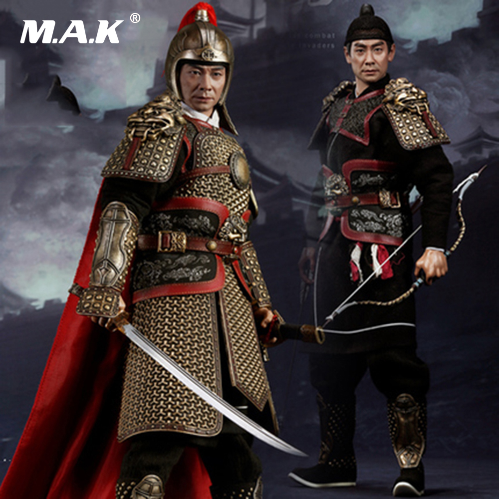 Collectible Full Set Figure Model 1/6 Chinese Ming Dynasty Hero Qi Jiguang Chiu Man Cheuk Action Figure Box Set for CollectionCollectible Full Set Figure Model 1/6 Chinese Ming Dynasty Hero Qi Jiguang Chiu Man Cheuk Action Figure Box Set for Collection