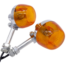 For Honda XL100 C70 CT70 CT90 CB350 CM400 CB450 CB750 Moto Indicators Flashers Blinkers Amber Lamp Motorcycle Turn Signal Light