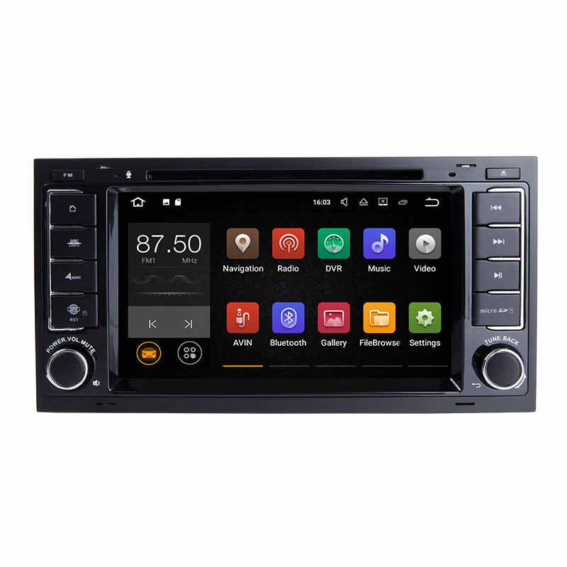 Josmile 2 喧騒車のマルチメディアプレーヤー Vw フォルクスワーゲントゥアレグ T4 トランスポーター T5 GPS ナビゲーション AutoRadio 2004 2005 2006 20082011