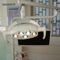 Oral Implant lamp LED Sensor Light Dental Chair Light Cold Light Induction Control On Or Off +8 Level Brightness Adjustable 22mm