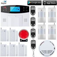 Wireless SMS Home GSM Alarm System 7 LCD Keyboard RU SP EG FR IT Voice House