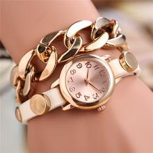 HOT NEW Girls Top quality Unisex Retro Numerals Bracelet Quartz Wrist Watch Stylish free transport