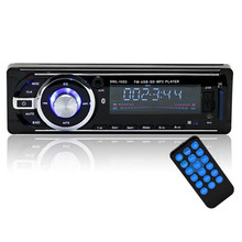 NEW HOT Bluetooth Car Stereo Audio 1 DIN In-Dash FM Aux Input Receiver SD USB MP3 1053