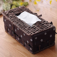 Pastoral Wind Napkin Box Home Living Room Pumping Paper Tea Table Paper Tissue Pumping Paper Box