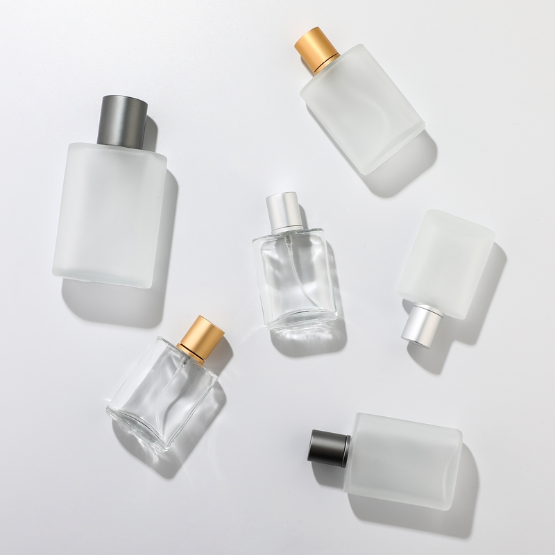 30ml 50ml 100ML Frosted Glass Spray Bottle High-grade Perfume Dispensing Bottle Cosmetic Spray Bottle 30ml Pressing Empty Bottle