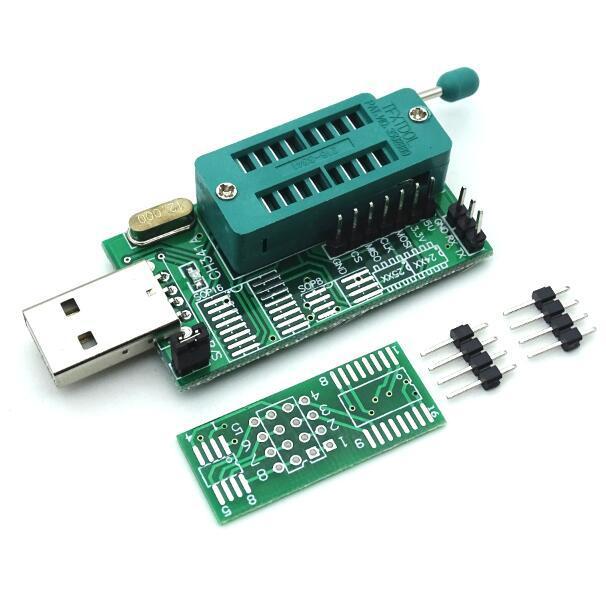 CH341A 24 25 Series EEPROM Flash BIOS DVD USB Programmer DVD programmer router Nine brush machine