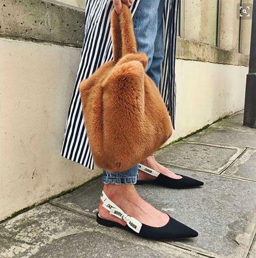 100% True Lady Winter Faux Fur Clutch Bag Fashion Black Wine Red Handbag Lady Puffy Vest Bag Bolsa Femme Mink Fur Handbags Women Tote Bag 2019 Official Top-handle Bags Women's Bags