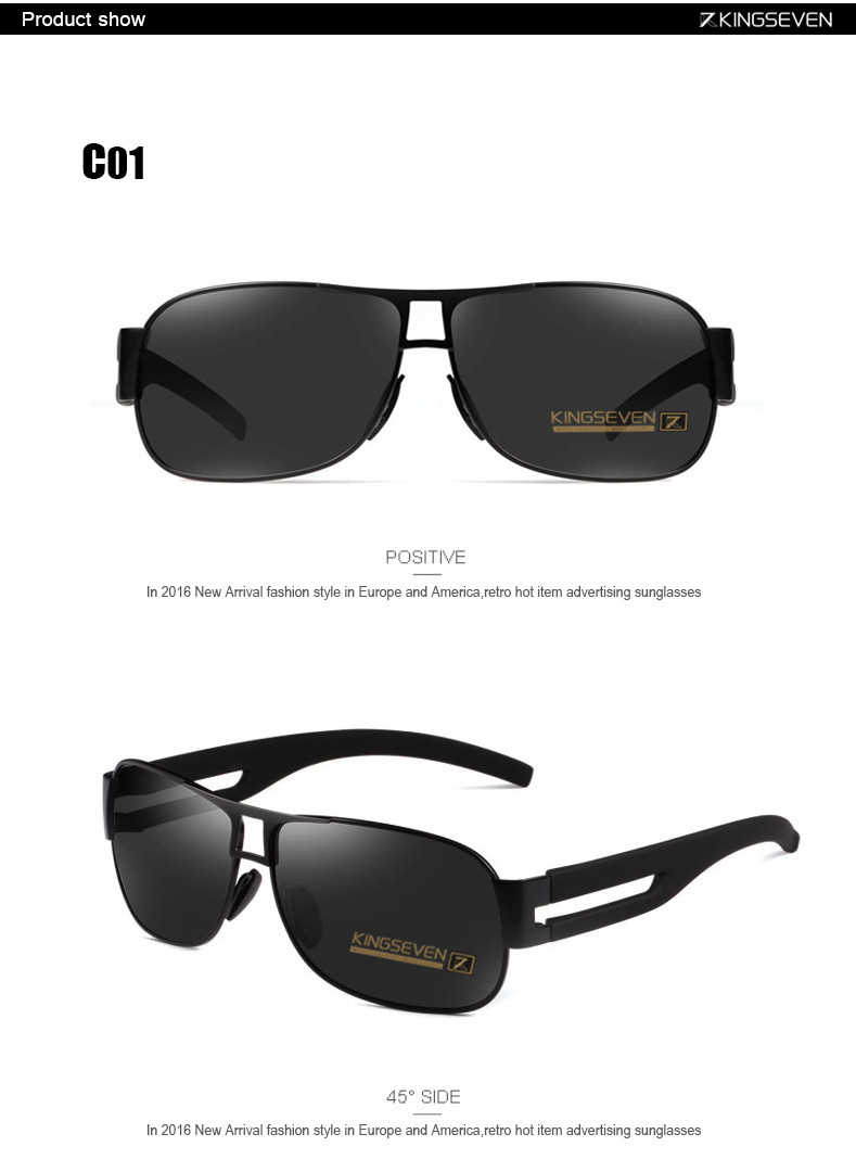 High Quality Alloy Polarized Sunglasses Men Vintage Male Sport Sun glasses Driving Google Eyewear Come with 6 Accessories K7806 5
