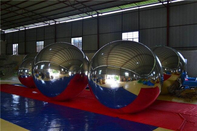 vruće 0,8 m modni božićni ukras na napuhavanje ogledalo loptu za - Zabava na otvorenom i sportovi - Foto 5