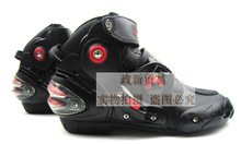Brand New Motorcycle Boots Pro Biker SPEED Moto Racing Motocross Motorbike Shoes Protective Gear Motorcycle Boots Red Color