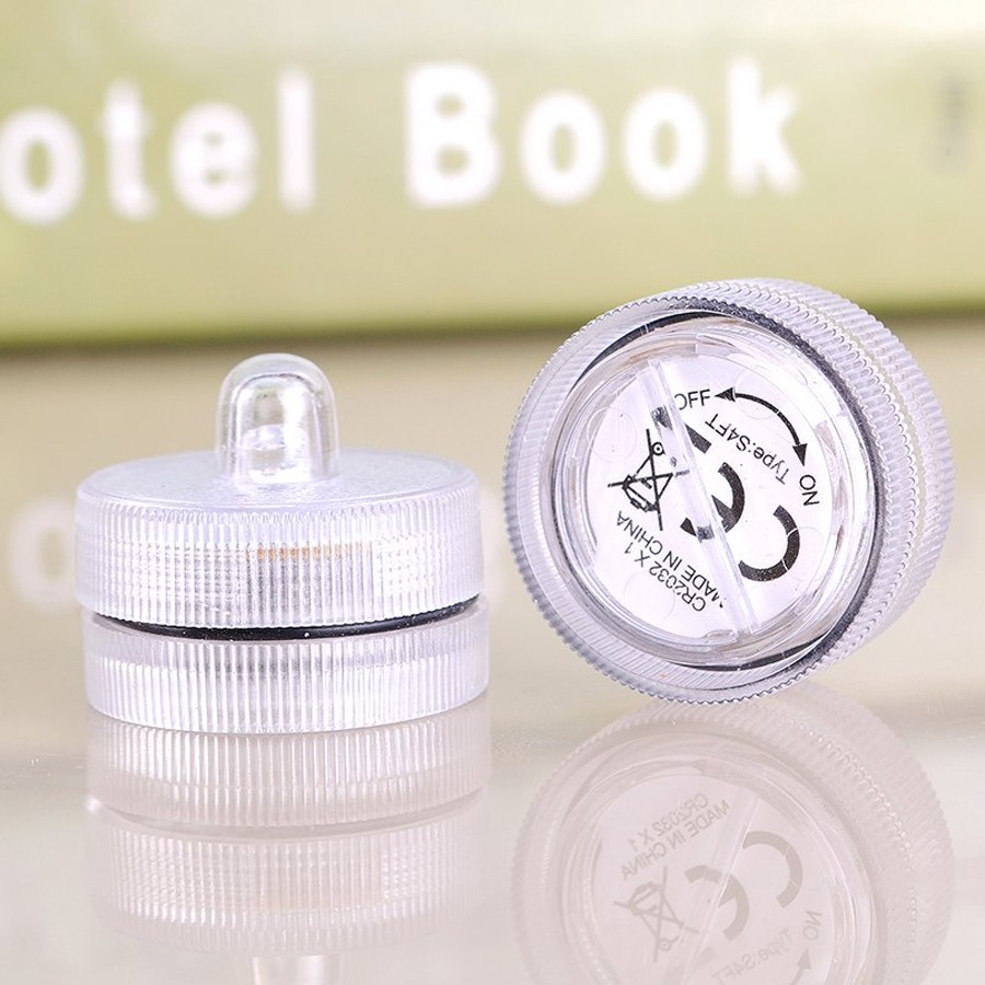 Waterproof Submersible LED Tea Light Electronic Candle Light (3)