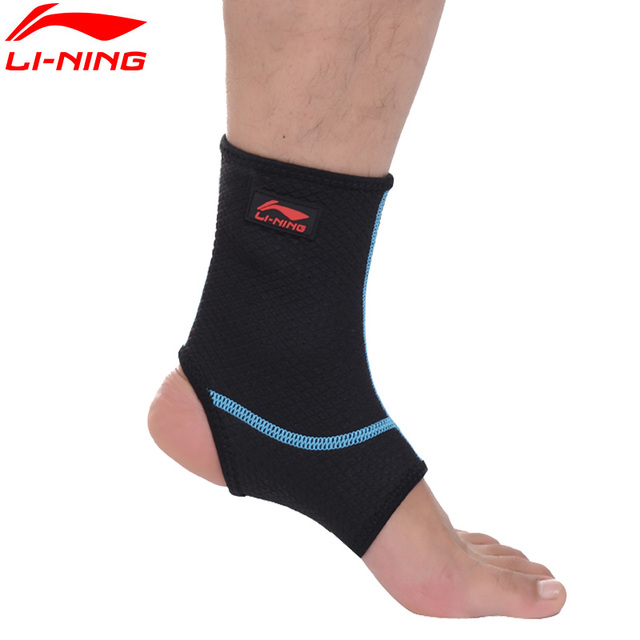 Li-Ning Sport Ankle Support 65% Neoprene & 35% Nylon Sportswear Accessories AQAH138 ZYF120