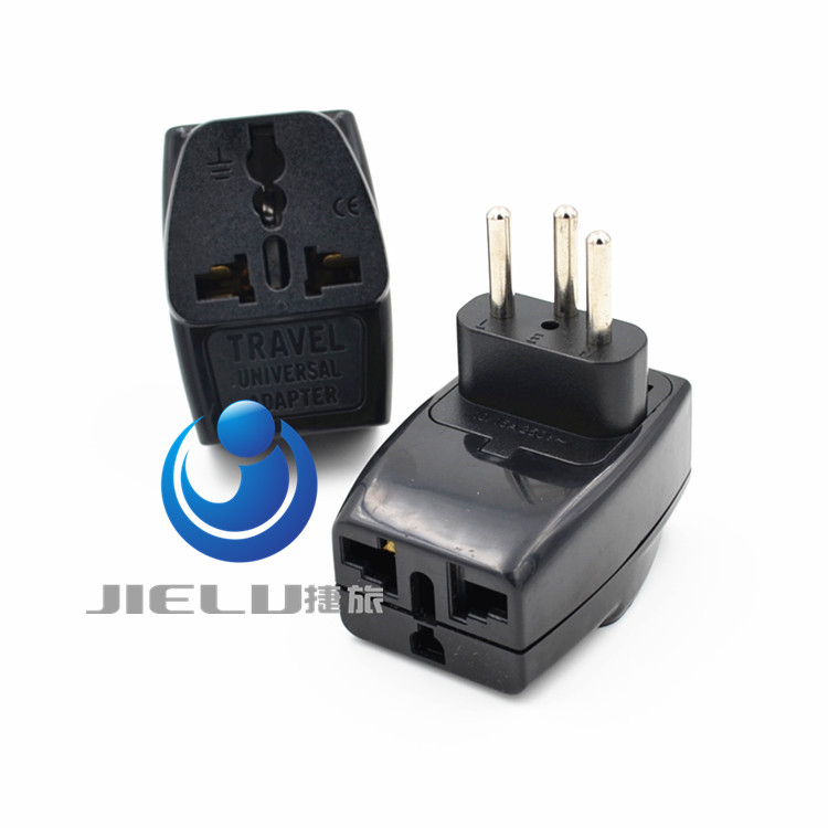 2016 3 Pin Travel Power Adapter Plug  1 to 3 Splitter Universal UK/US/EU/AU 3 Pins / 2 Pins Socket to Switzerland Swiss travel adapter