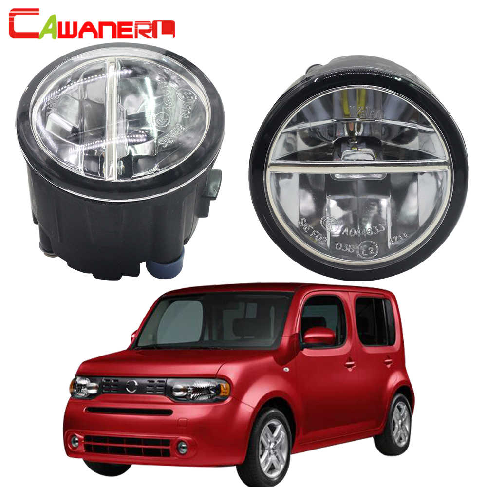 detail feedback questions about cawanerl 2 pieces car accessoriescawanerl for nissan cube z12 hatchback 2010 2014 car accessories led fog light 4000lm daytime