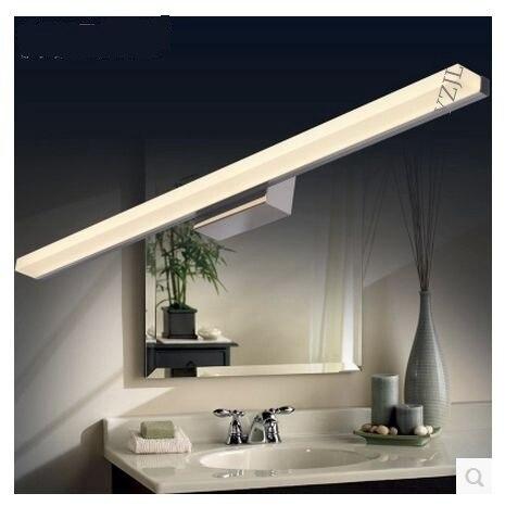 LED bathroom waterproof anti fogging bathroom mirror lamp ...