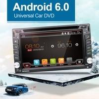 100 Android 4 4 Car Audio GPS Navigation 2DIN Car Stereo Radio Car GPS Bluetooth USB