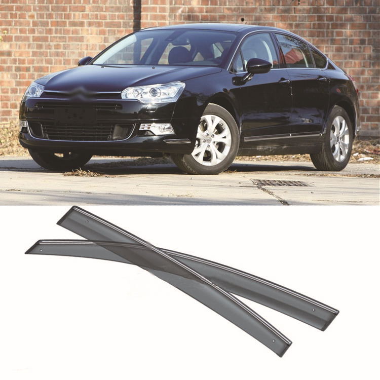 4pcs Blade Side Windows Deflectors Door Sun Visor Shield For Citroen C5 2010-2012 4pcs blade side windows deflectors door sun visor shield for toyota verso ez 2011 2014