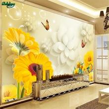 beibehang Large Custom Wallpapers Yu Mei Sunboy Butterfly 3D TV