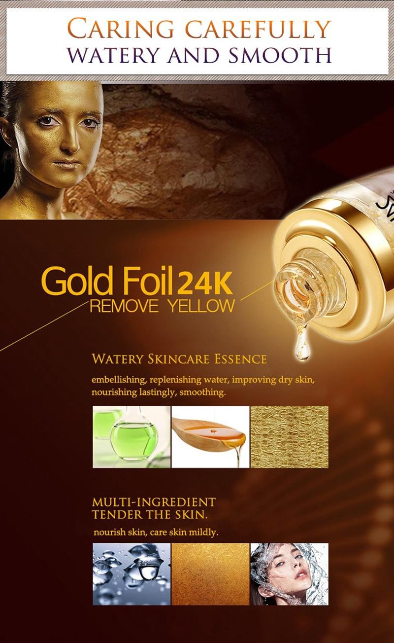 24 k BIOAQUA 24K Gold Face Cream Whitening Moisturizing 24 K Gold Day Creams & Moisturizers 24K Gold Essence Serum New Face Skin Care11