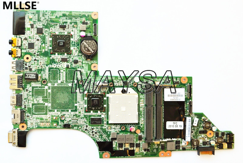 High Quality Laptop motherboard fit for HP Pavilion DV7-4000 DV7-4100 laptop motherboard 615688-001, 100% working top quality for hp laptop mainboard dv7 4000 630984 001 laptop motherboard 100% tested 60 days warranty