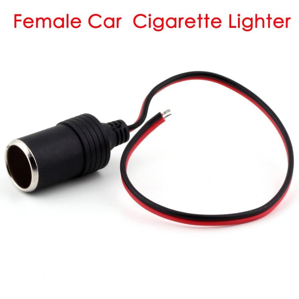 NovelCar Cigarette Lighter Charger Cable Female Socket Plug Connector Adapter Hot Selling