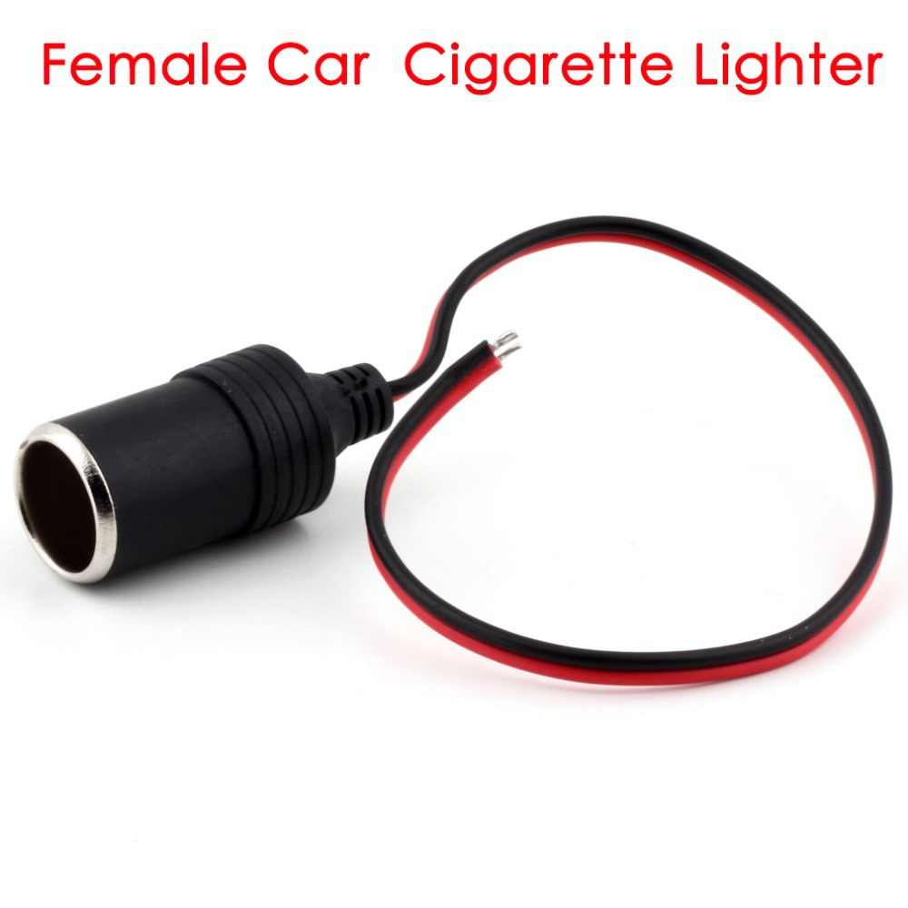 NovelCar Cigarette Lighter Charger cable Female Socket Plug Connector Adapter hot selling