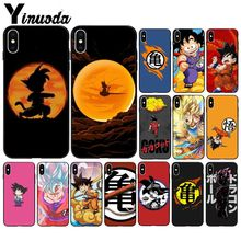 Yinuoda Dragon Ball DIY Printing Drawing Phone Case cover Shell for Apple iPhone 8 7 6 6S Plus X XS MAX 5 5S SE XR Mobile Cover ножницы purple dragon 6 0 5 5 diy g005