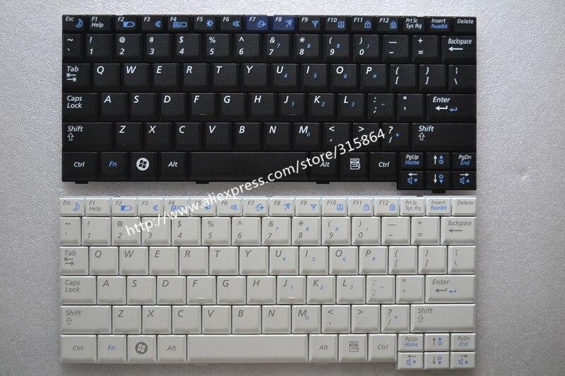 US Nouveau clavier d'ordinateur portable pour samsung NP NC10 ND10 N130 N128 N140 N108 N110 N130 Anglais