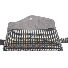 Shiny Rivet Waist Pack