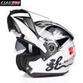 Flip up modular casco de la motocicleta ls2 moto completa kask casque open face casco motobike 370g motocicleta cacapete hombres cascos