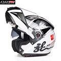 Ls2 virar para cima do capacete da motocicleta modular moto completa abrir rosto motocicleta motobike 370g cacapete casco casque homens capacetes kask