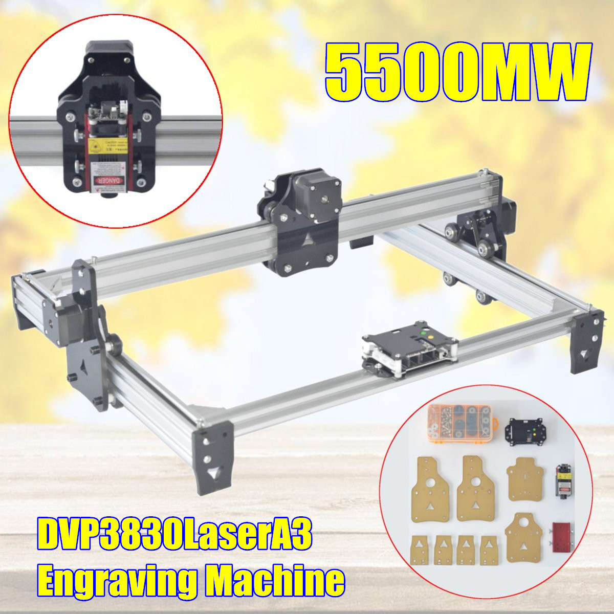 5500mw DVP 3830 Laser A3 Engraving Machine,DIY Laser Engraver Machine,Wood Router,laser cutter,cnc router,Woodworking Machinery набор для барбекю gipfel ignis 3 предмета