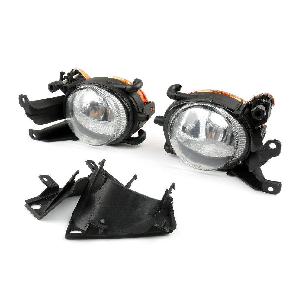 Areyourshop feux de brouillard de voiture conduite Spot lampes boîtier noir 1997-2003 pour BMW E39 5-Serise voiture lumière Auto Accesorios automovil