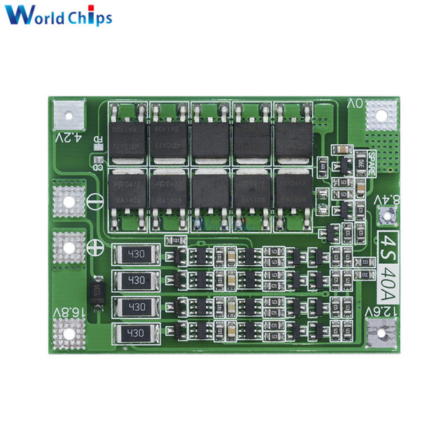 12.6V 13.6V Li-ion Lithium Battery Charger Protection Board 3