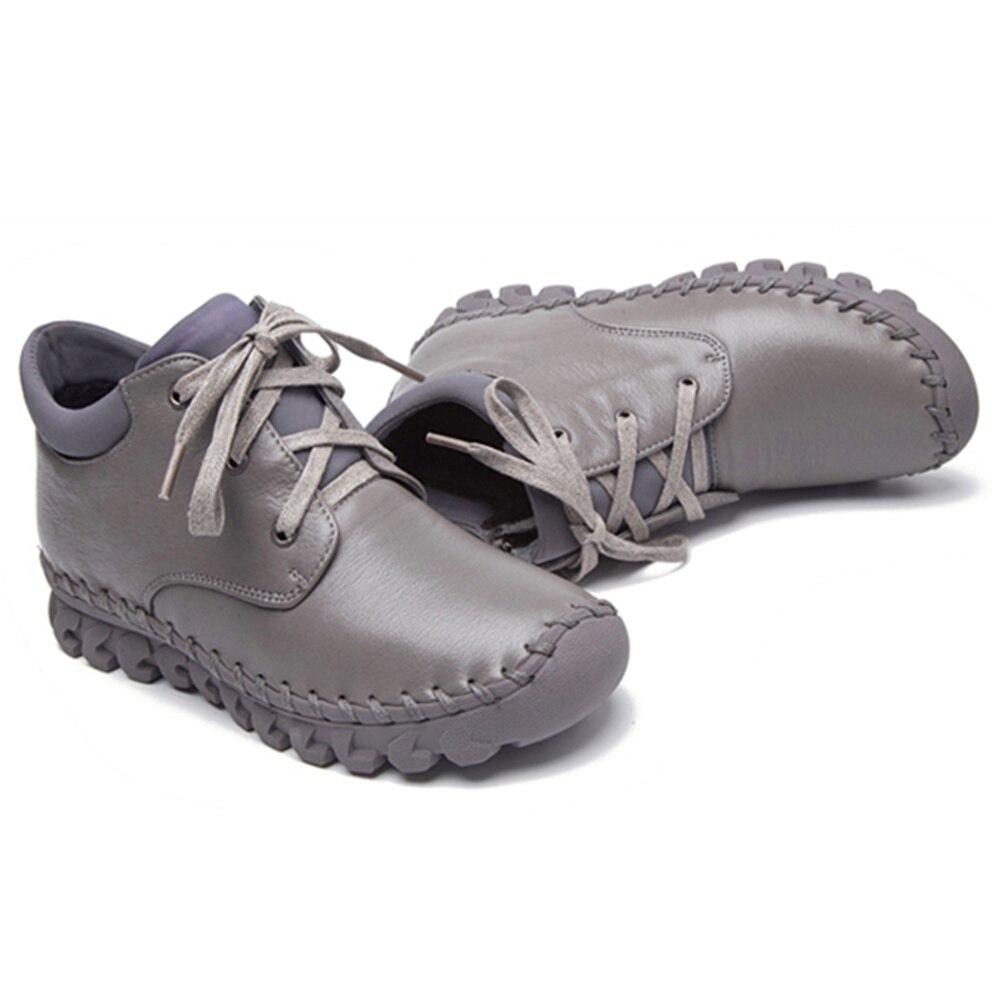 Aus Peipah Echtem Leder Frauen Stiefeletten F Schuhe PwikZulOTX