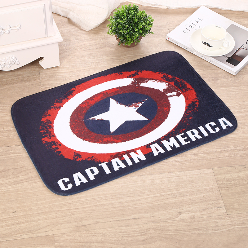 Europe And United States Wind Shield Pattern Anti Slip Mats Home Kitchen Bathroom Living Room Flannel Mats &20