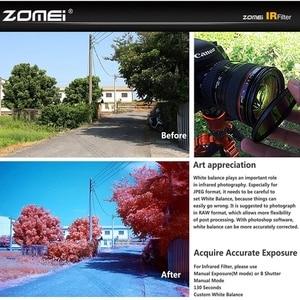 Image 2 - 赤外線線 IR フィルターカメラレンズキット IR680 IR720 、 IR760 、 IR850 、 IR950 レンズキットフィルター 58/62/67/72/77 ミリメートルニコン、キヤノン、ソニー