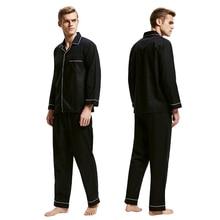 Tony&Candice Pajamas Men Sleepwear 100% Cotton Men's Nightwe