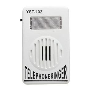 Image 4 - 95dB 余分なリンギング音量電話電話リンガー電話リングアンプヘルプストロボライトベル音固定リンガー音着信音