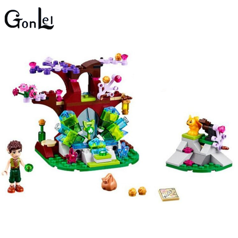 (GonLeI)ELVES Farran and the Crystal Hollow Model 10409 Building Blocks compatiable with Bela  Girls Bricks Toys steven heston l  the heston model and