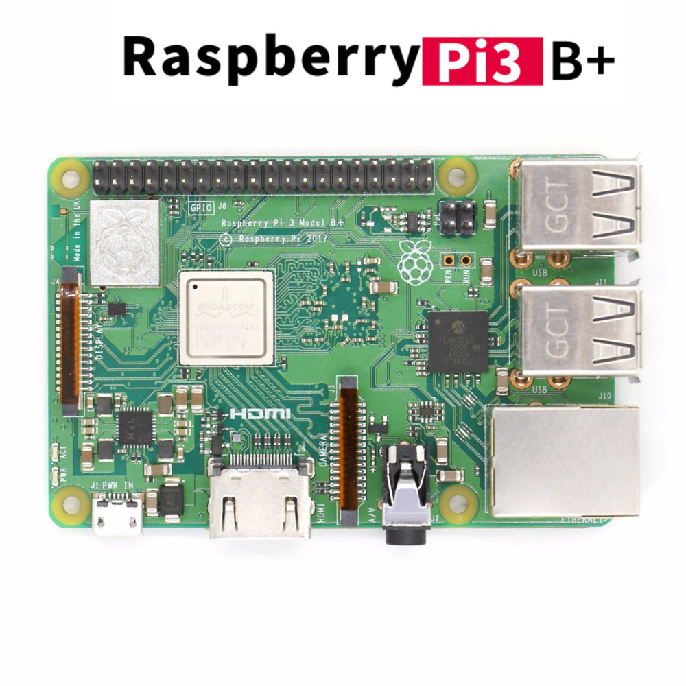 купить New Arrival Raspberry Pi 3 Model B+ 2018 In Stock Raspberry Pi 3 B Plus 1.4GHz 64 bit Processor RPi 3 B+