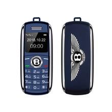 Mini Sport Car Key Shape Mobile Phone Bluetooth Dailer Magic Voice Speed Dial Du