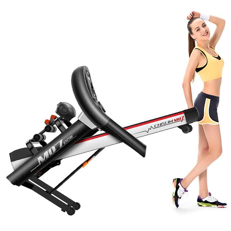 CHISLIM Baru 5.5HP Peralatan Fitness Treadmill Latihan Listrik - Kebugaran dan binaraga - Foto 2