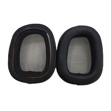 1 Pair Earpad Over-Ear Ear Pads Cup Foam Cushions Earphones Cover for Logitech G433 Game Headphone