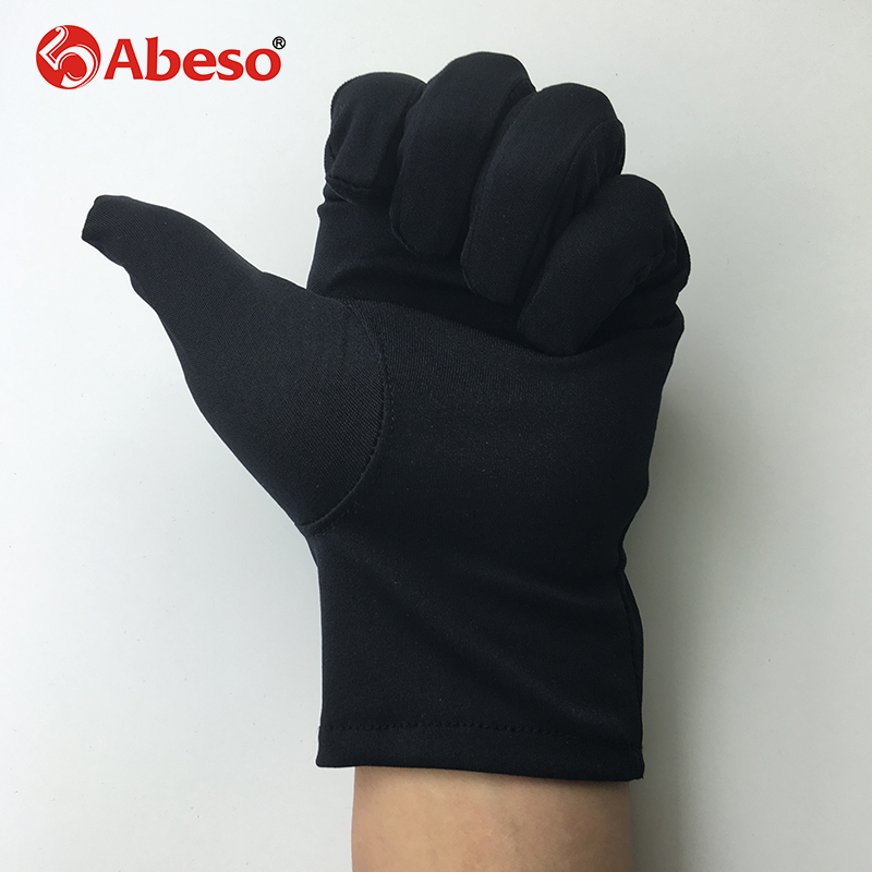 ABESO 10Pairs black dacron antiskid Etiquette Gloves liturgy Magician Catering inspection Gloves male and female Gloves A1001 barton wallpapers фотообои f17303 300х270 см