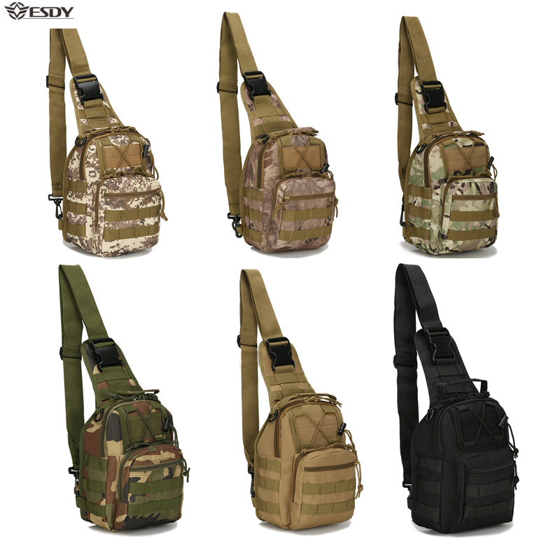 Outdoor Shoulder Military Bag Sports Climbing Backpack Shoulder Tactical Hiking Camping Hunting Daypack Fishing Backpack