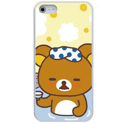 Retail New Products Luxury Case New Products Easy Bear Rubber Cellphone cases Accessories Cases For iPhone 5 Free Shipping