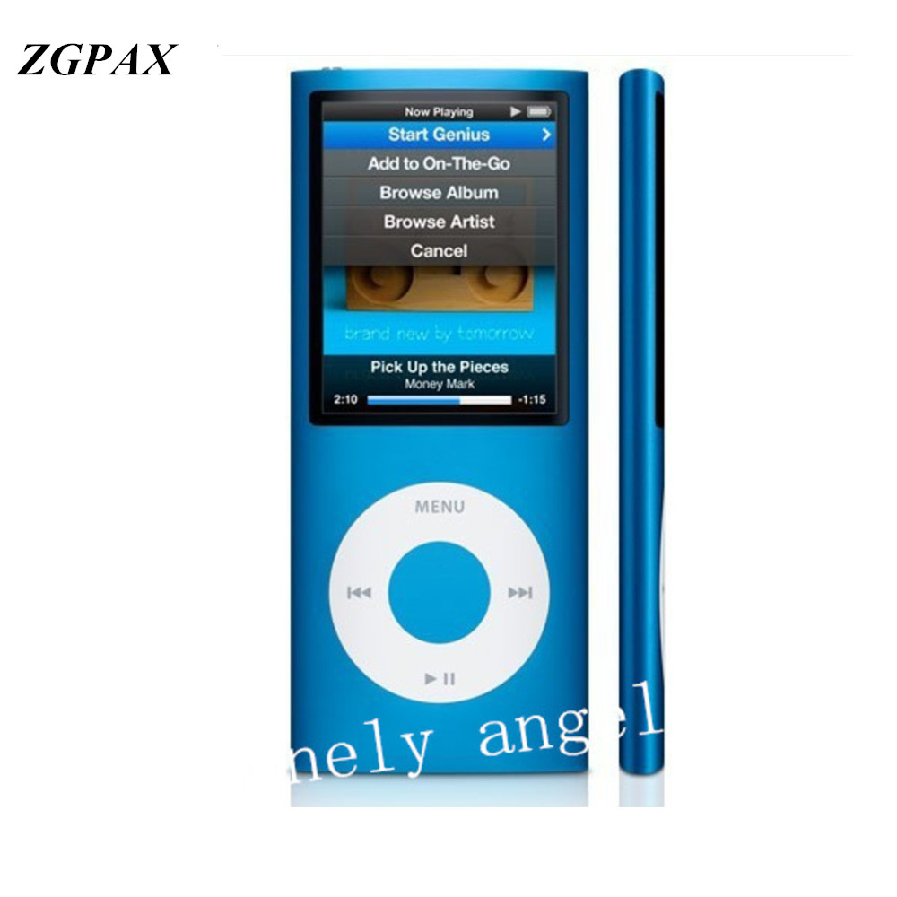 Zgpax alta calidad LCD 1.8 pulgadas 8 GB 16 GB 32 GB deporte Reproductores MP3 música 4th gen con FM radios e-book hd vídeo Reproductores MP4