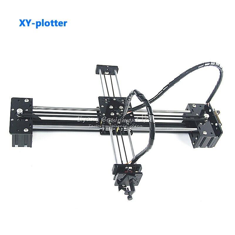 500 MW laser bricolage stylo dessin robot machine lettrage corexy-traceur robot pour CNC V3 bouclier dessin jouets